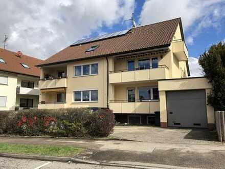 Erstbezug nach Sanierung: schöne 1-Zimmer-EG-Wohnung in Bonlanden mit EBK und Stellplatz