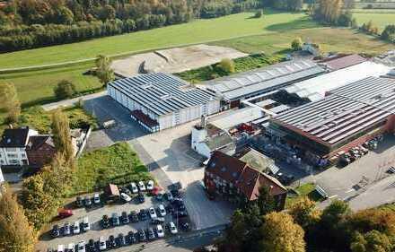 750-3800qm Gewerbe / Handel / Logistik / Lager / Produktion / Büros neben OBI