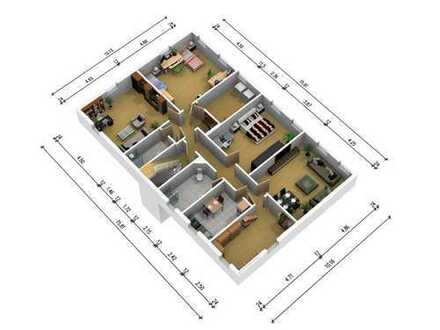 4-5-Raum-Wohnung über den Dächern von Ernstthal