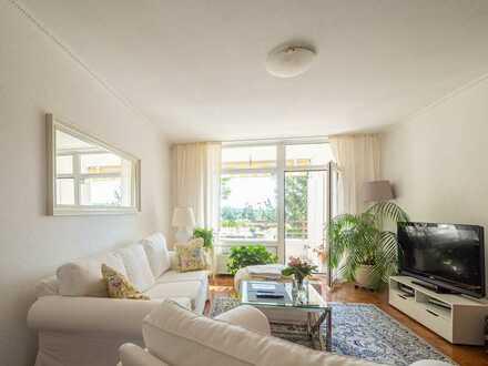 Ruhig gelegene 4,5-Zimmer-Wohnung mit Weitsicht