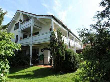 3-Zimmer-Wohnung mit großem Balkon, Gartenlage