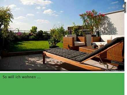 Helle 4-Zi-Wohnung im Dachgeschoss mit großer, geschützter Dachterrasse