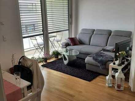 1,5-Zimmer-1.OG-Wohnung mit Balkon und EBK im Kurgarten 1