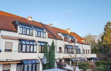 Citynahe, voll möblierte 2 Zimmer-EG-Wohnung mit Terrasse und TG-Stellplatz zu vermieten