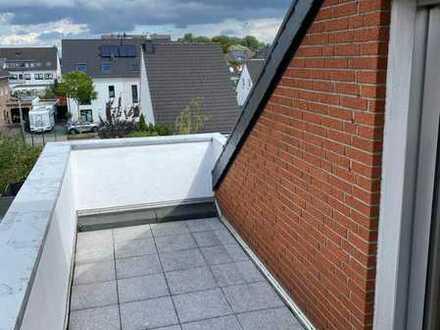 Gemütliche großzügige Dachgeschosswohnung