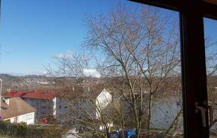 Erstbezug nach Sanierung: ansprechende 3,5-Zimmer-DG-Wohnung mit Balkon in Sigmaringen