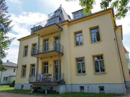 www.r-o.de +++ Individuelle 3-Zimmerwohnung mit 3 Balkonen in Dresden-Niedersedlitz
