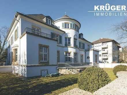 Villa Eicheneck / repräsentatives Wohnen in hochwertig saniertem Karlsruher Kulturdenkmal