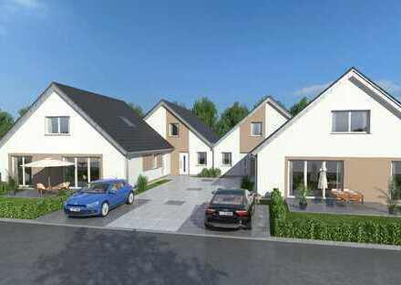 Neubau von 8 barrierearmen Bungalows in grüner Wohnlage von Odenthal-Voiswinkel