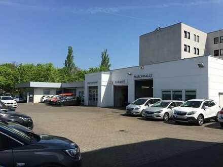 MODERNES AUTOHAUS / GEWERBEOBJEKT FÜR EIGENNUTZER / KAPITALANLEGER ZU VERKAUFEN - Erbbaurecht -