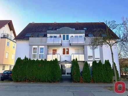 Attraktives Wohnen - Moderne 2-ZKB Wohnung mit Balkon in bevorzugter Wohnlage