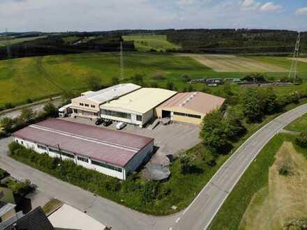 Hochwertige Logistik/ Produktionshallen mit Büroflächen auf großem Grundstück