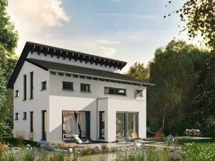 Moderne Architektur und viel Helligkeit