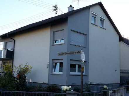 Sanierte 4-Raum-Wohnung mit Balkon in Wiesloch