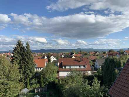 Kusterdingen- Albpanoramablick