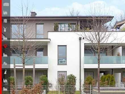 Barrierefrei in den WÜRMAUEN! Traumhafte 2-Zimmer-Dachterrassen-Wohnung