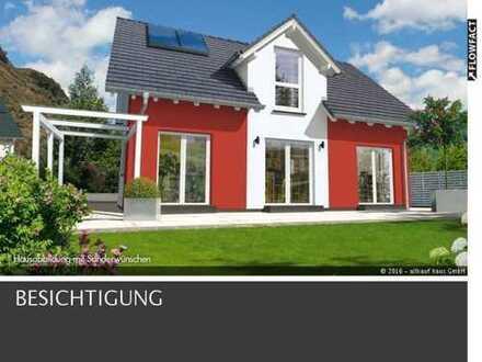 SOMMERTRAUM- Einfamilienhaus KFW 55 mit Keller, Garage und Grundstückspreis