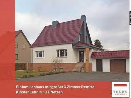 Schönes Einfamilienhaus mit 85m² großer Remise mit 3 Zimmern