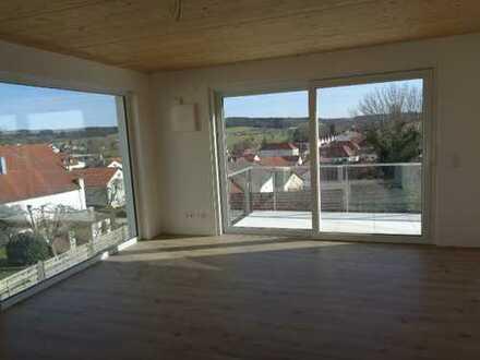 Erstbezug: attraktive 3-Zimmer-Wohnung mit 2 Balkon in Ilmmünster