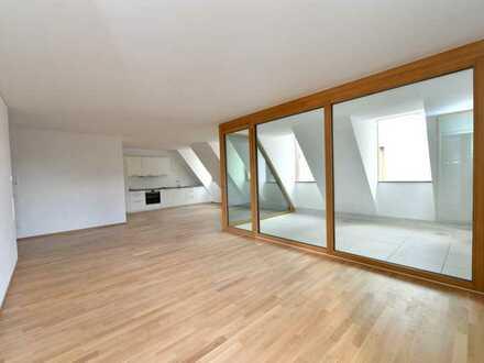 Erstbezug: 3,5-Zimmer-Maisonette-Wohnung im Herzen von Ehingen in den Volksbankhöfen