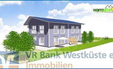 Neubau eines KfW40+ Doppelhauses in bevorzugter Lage von Husum-Rödemis!