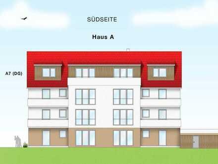 Traumhafte 5 Zimmer Dachgeschoß ETW (A7) mit Aufzug und großer Süd-Dachterrasse