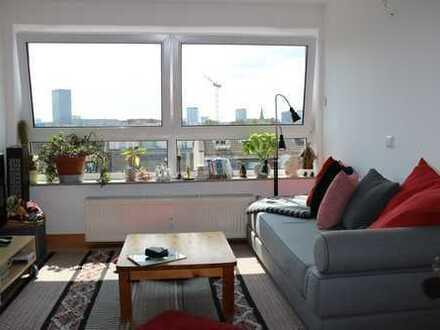 WohnRaumAgentur.de: Frankfurt-Bockenheim:Verkauf einer 3,5 Zimmer-Wohnung mit Skylineblick