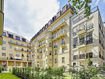 """Ruhige, lichtdurchflutete 3-Zi.-Whg. mit Balkon im historischen """"Ottilie-von-Hansemann-Ensemble"""""""