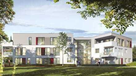 Moderne 3 Zimmer-Wohnung mit sonniger Terrasse und großem Garten