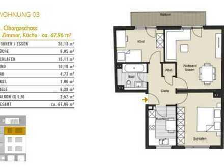 Natürlich Köln! 3-Zimmer-Wohnung in Köln Bickendorf zu verkaufen! WE 03