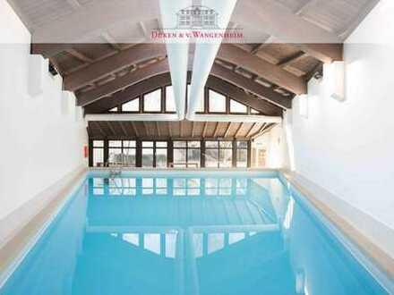Schwimmbad & Sauna! Direkt an der Isar! 5-Zimmer-Wohnung zur Miete.