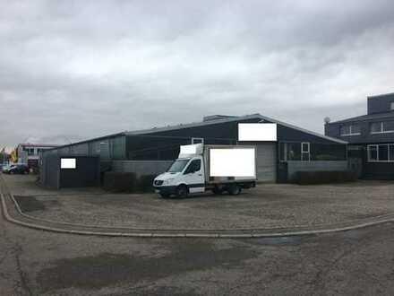 Fertigungshalle mit Bürotrakt und Wohnhaus mit 10 Ar großem Bauplatz
