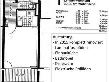 Exklusives, modernisiertes 1-Zimmer-Appartement Waiblingen Stadtmitte