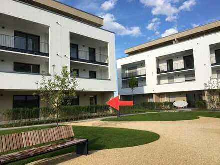 Neubauwohnung mit sonnigem Garten *Erstbezug* ab 01.06. in Rosbach v. d. Höhe