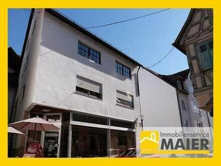 Beste Wohn- und Geschäftslage in der Altstadt von Großbottwar - hier kann Ihr Traum wahr werden!