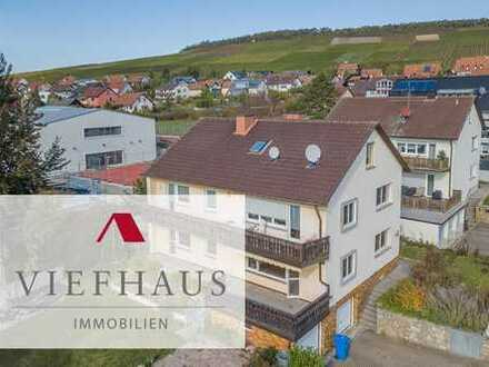 4-Zimmer-Eigentumswohnung mit großem Balkon und Gartenanteil in Eibelstadt