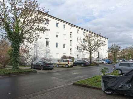 !Zentrale & ruhige 3–4-Zi Whg in Mainz-Hartenberg-Münchfeld: mit Balkon & Parkett-Wohnbereich!
