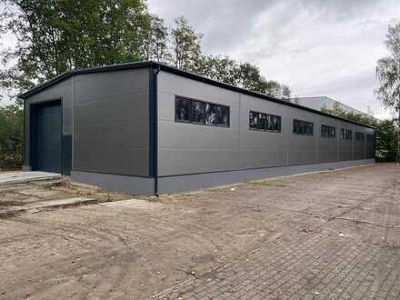 Lagerhalle 504 m², 12m x 42m, Grundstück 3.000 m²