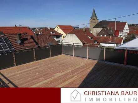 SONNENWOHNEN: 2,5-Zimmer mit 28 m² Dachterrasse, Geislingen