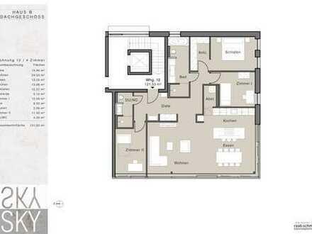 Lebensqualität in allen Facetten! Exclusive und traumhafte Dachgeschosswohnung