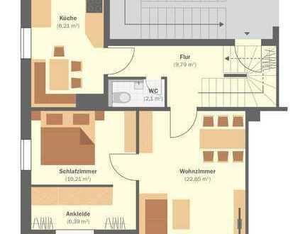 5-Zimmer-Maisonette!