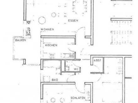 73249 Wernau: Ruhige 3-Zi.-Wohnung mit Balkon TG-Stellplatz / frisch renoviert / FREI