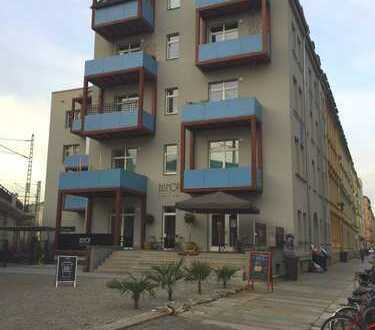 Helle 4-Raum-Wohnung mit 2 Balkonen und 2 Bädern - Wohnen im Hechtviertel