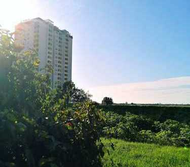 Gepflegte, helle Wohnung in herrlicher, idyllischer Feldlage mit Blick auf die Bergstraße!