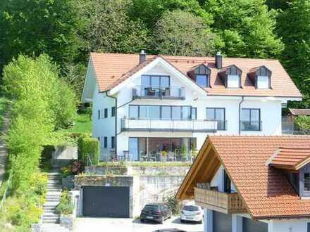 möbilierte DG Wohnung direkt am STA-See + Top Seeblick + Mitbenutz. Seegrundstück,