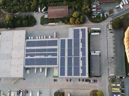 4500 m² Lagerhalle mit bis zu 34 m Höhe in 95448 Bayreuth - IN PLANUNG