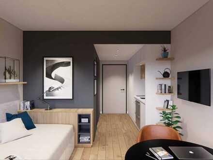 1-Zimmer-Apartment mit modernster Ausstattung und direkter City-Anbindung