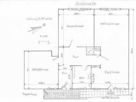 Gepflegte 3-Zimmer-Wohnung mit Balkon und EBK in Neheim-Hüsten