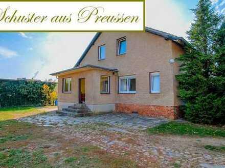 Schuster aus Preussen - qualifizierter Auftrag - Hof und Haus auf fast 8.000 m² am Oderbruch - Id...