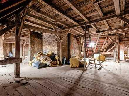 Prächtiger Dachrohling mit Baugenehmigung - Wohnjuwel in Spreenähe !